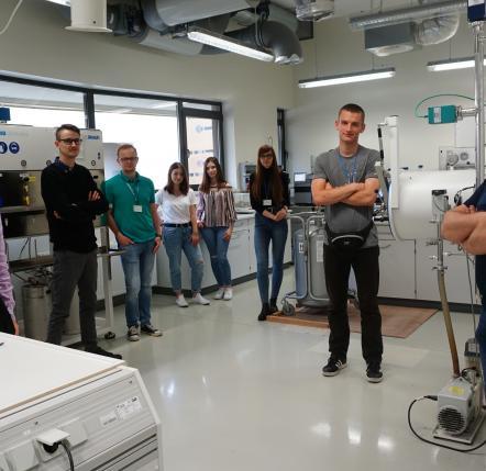 prof. dr hab. Ireneusz Kownacki z zespołem